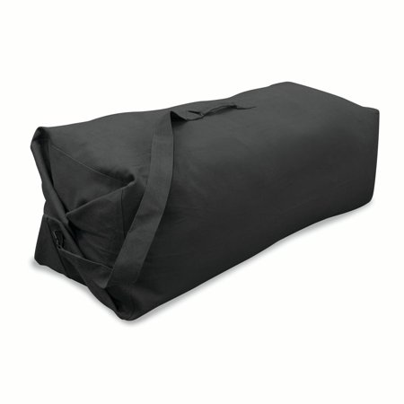Stansport Duffel Bag with Strap - Black - 50