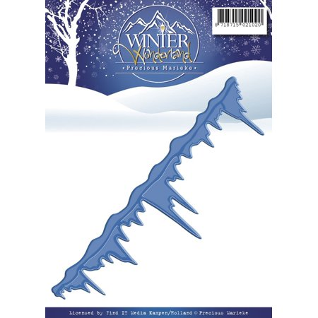 PM10047 Icicles Precious Marieke Winter Wonderland Die, Blue, Pretty and innovative cutting dies to help you create beautiful cards scrapbook pages and.., By Find It Trading ()