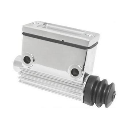 HardDrive 148202 Rear Master Cylinder - Chrome (Rear Brake Cylinder Kit)