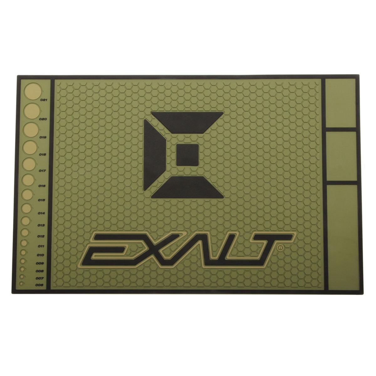 Exalt Paintball HD Rubber Tech Mat Army Olive by Exalt