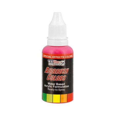 US Art Supply 1-Ounce Special Effects Neon Magenta Airbrush Paint