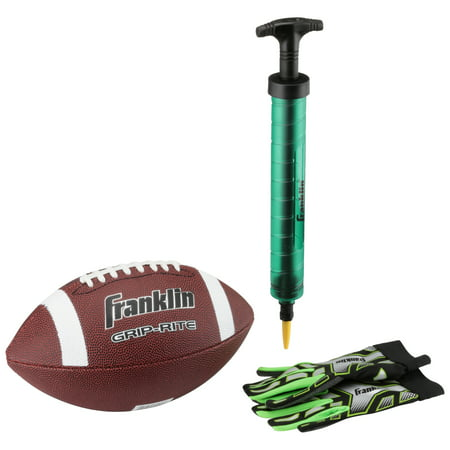 Franklin® Football Sports Pack With Ball, Pump, and Gloves
