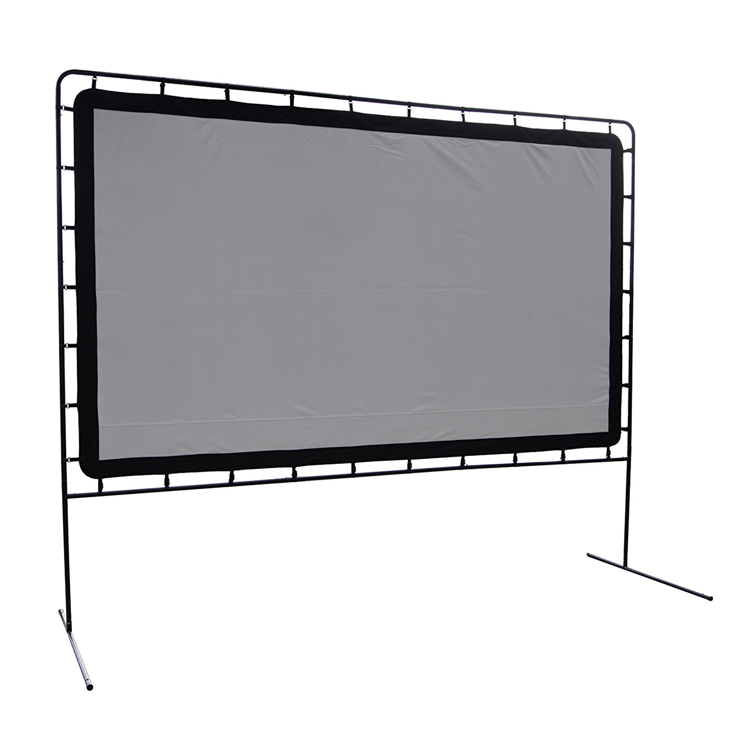 "Camp Chef 144"" Giant Indoor or Outdoor Nylon Backyard Movie Projector Screen"
