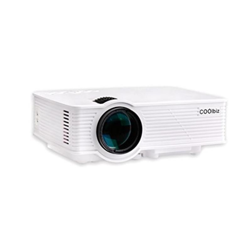 Projector, Lary intel Mini Home Cinema Theater GP-9 HD LC...