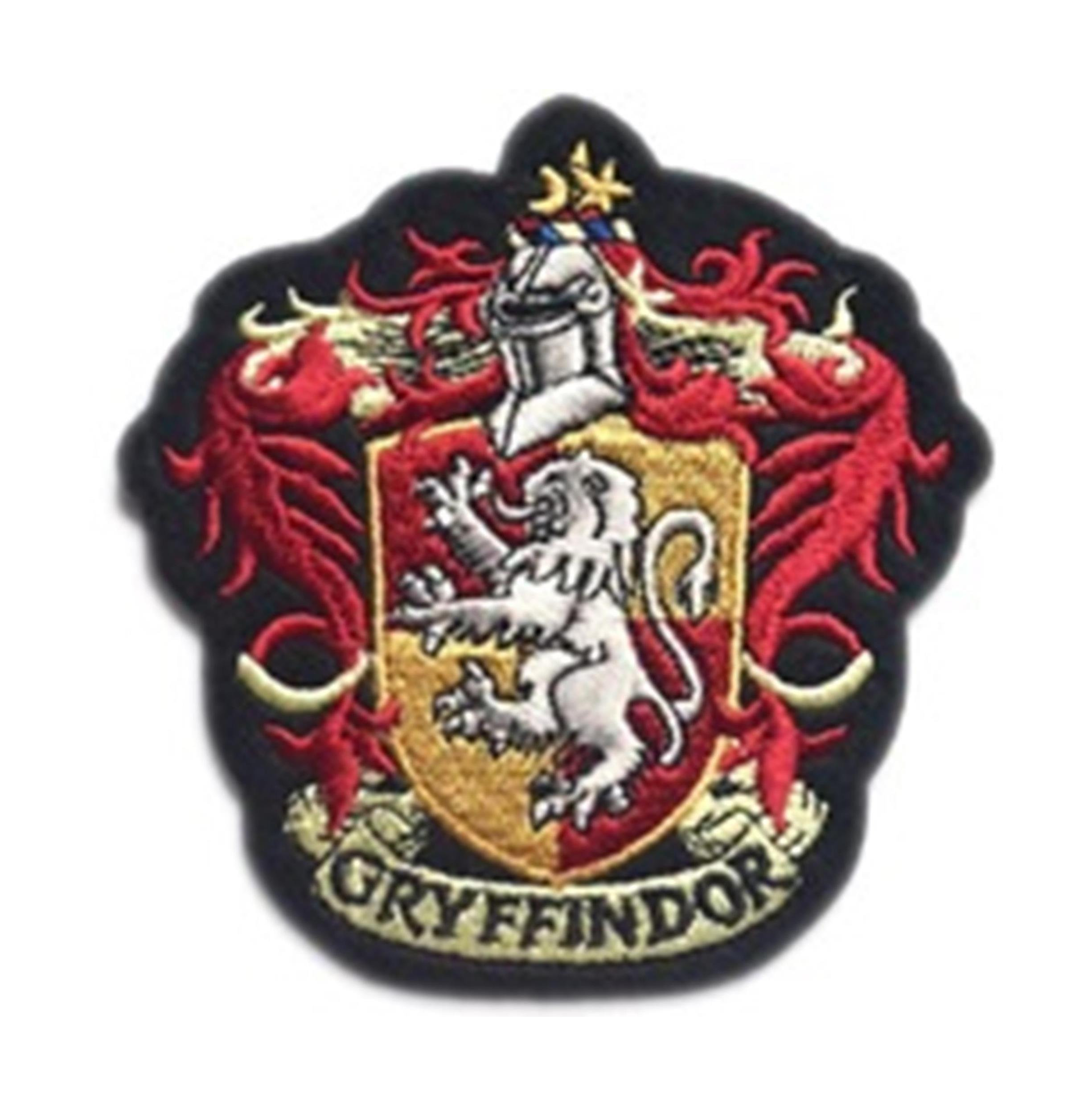"Superheroes Gryffindor House Crest 4"" Embroidered Iron/Sew-on Applique Patch"
