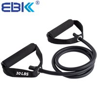 Resistance Bands Resistance Tubes with Foam Handles, Exercise Cords For arms biceps leg abs Strength Training 20-30LBS