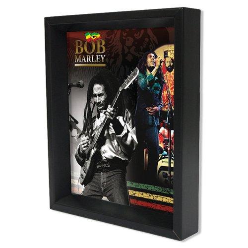 Pyramid America 'Bob Marley' Framed Graphic Art Print