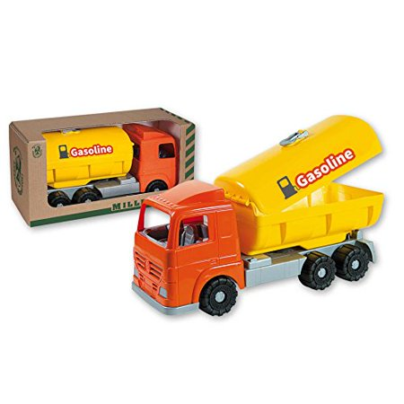 - Durable Gasoline Dump trucks toy suitable for Toddles, Boys Made in Italy