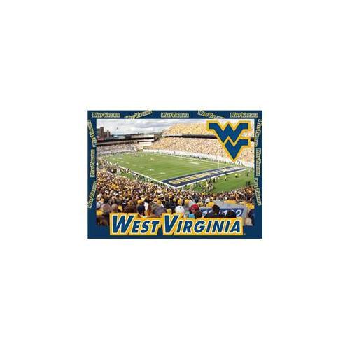 R and R Imports PZ-C-WVU12 West Virginia University 500 piece Adult Jigsaw Puzzle
