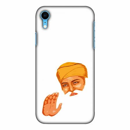 iPhone Xr Case, Ultra Slim Case iPhone Xr Handcrafted Printed Hard Shell Back Protective Cover Designer iPhone Xs Max Case [6.1 Inch, 2018] - Guru Nanak Dev