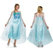 Frozen Disney Womens Elsa Deluxe Halloween Costume