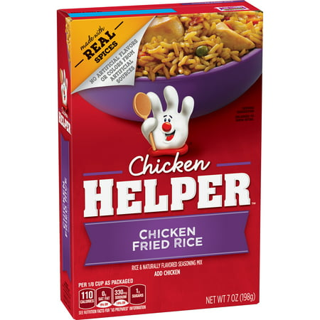 (6 Pack) Chicken Helper Chicken Fried Rice, 7 oz