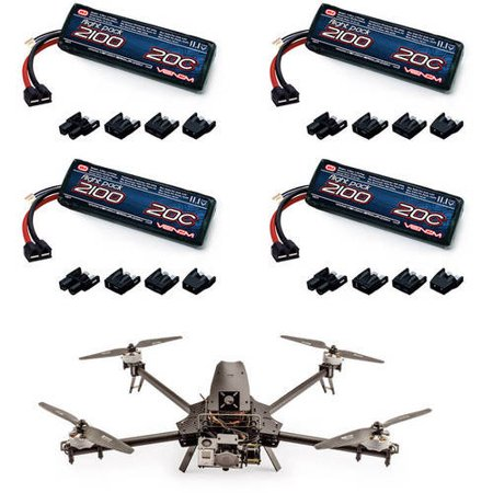 Special Offer Action Drone ADM Mini Replacement RC Quad Drone LiPo Battery by Venom – 4 Pack Before Too Late