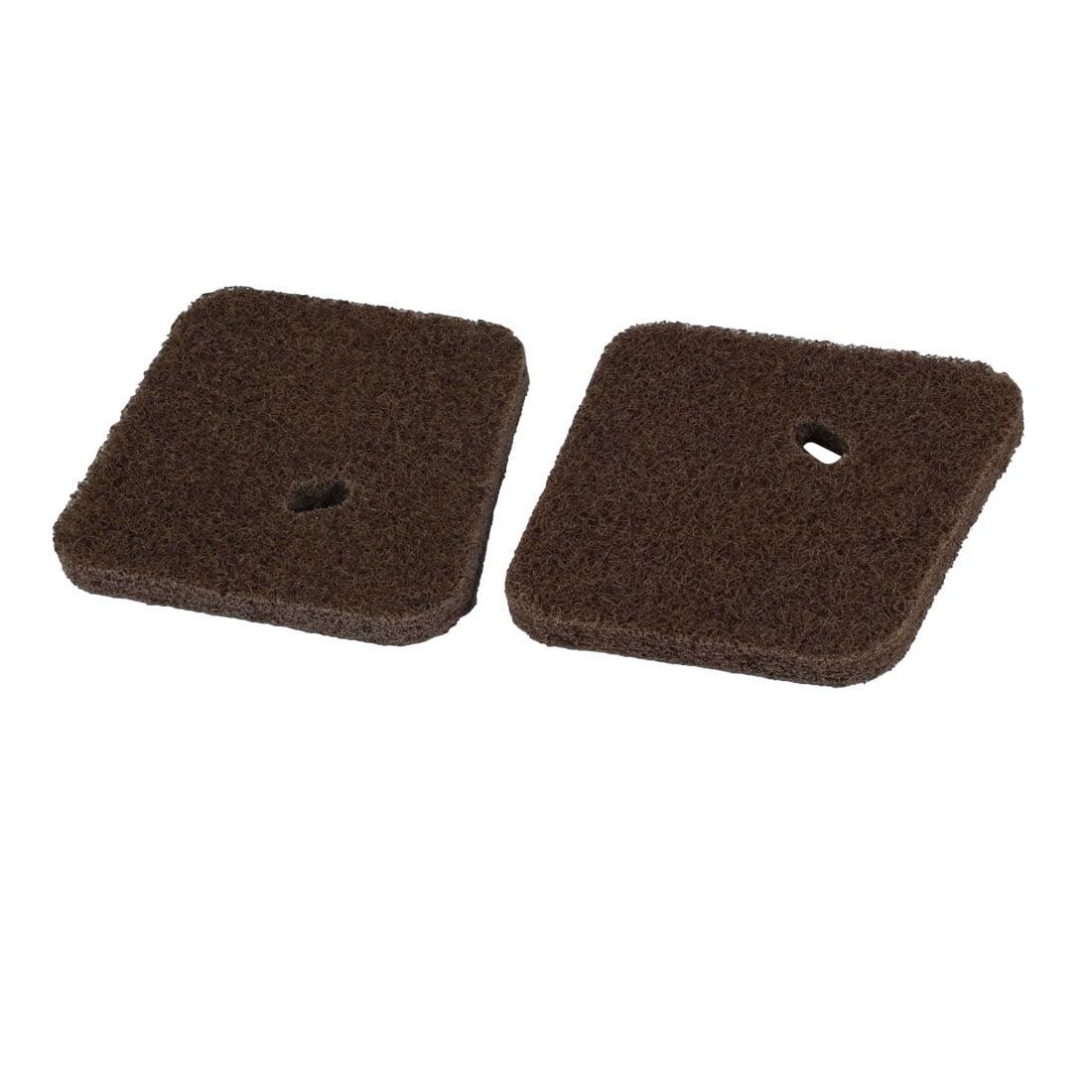 Unique Bargains 2 pcs Replacement Parts Cotton Air Filter Cleaner for FS55 String Trimmer by Unique-Bargains