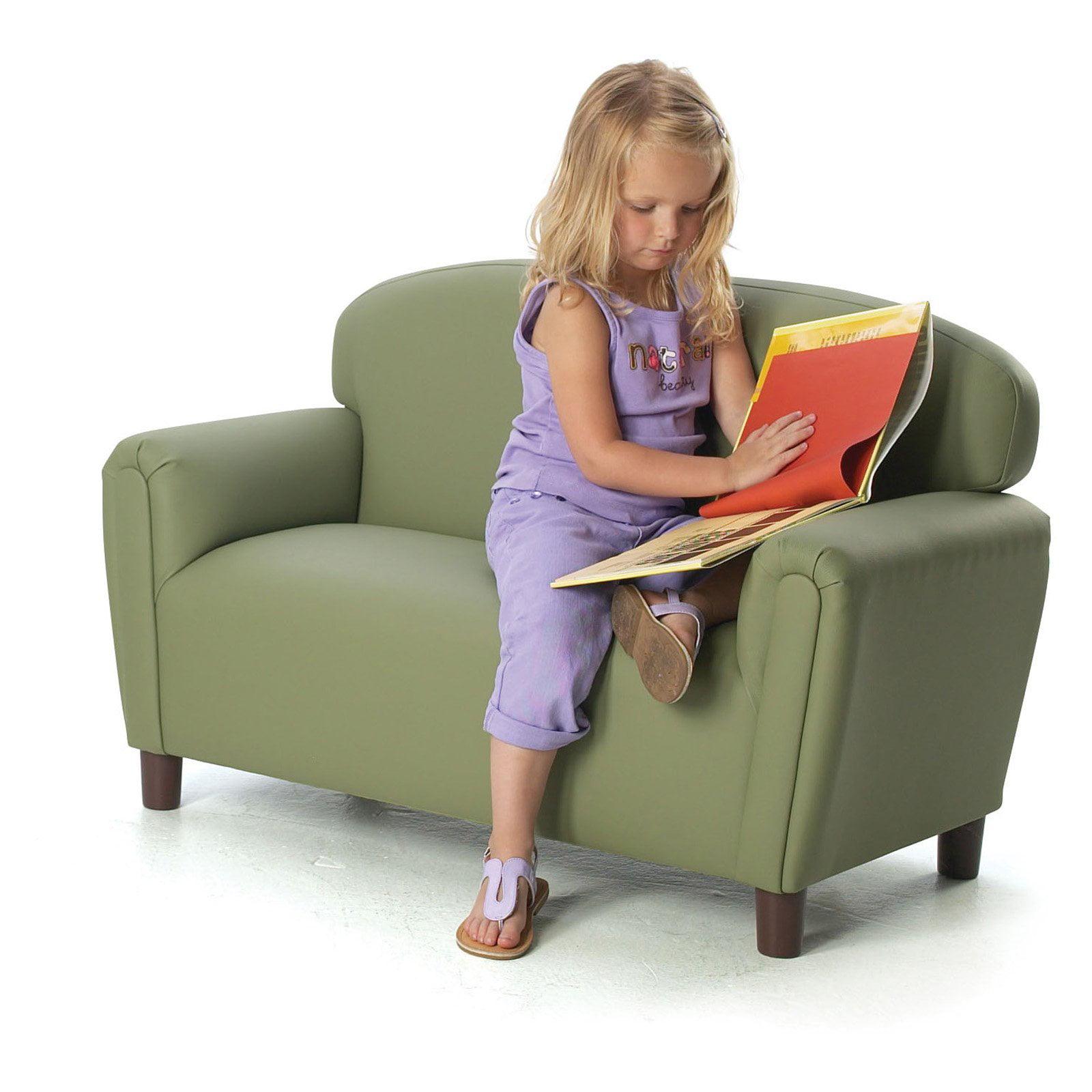Brand New World Enviro-Child Upholstered Preschool Sofa by BNW