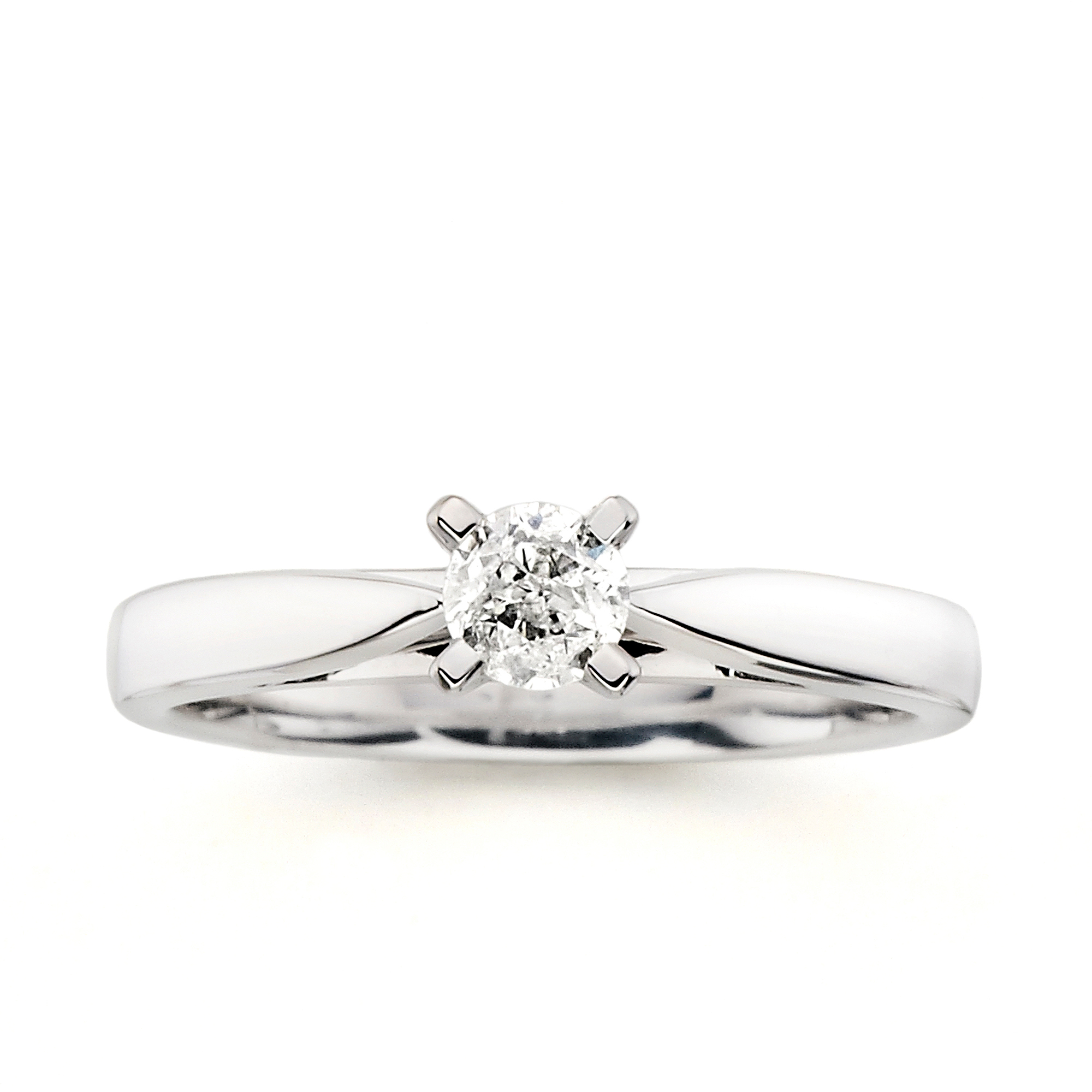 solitaire engagement de platinum ring beers aura