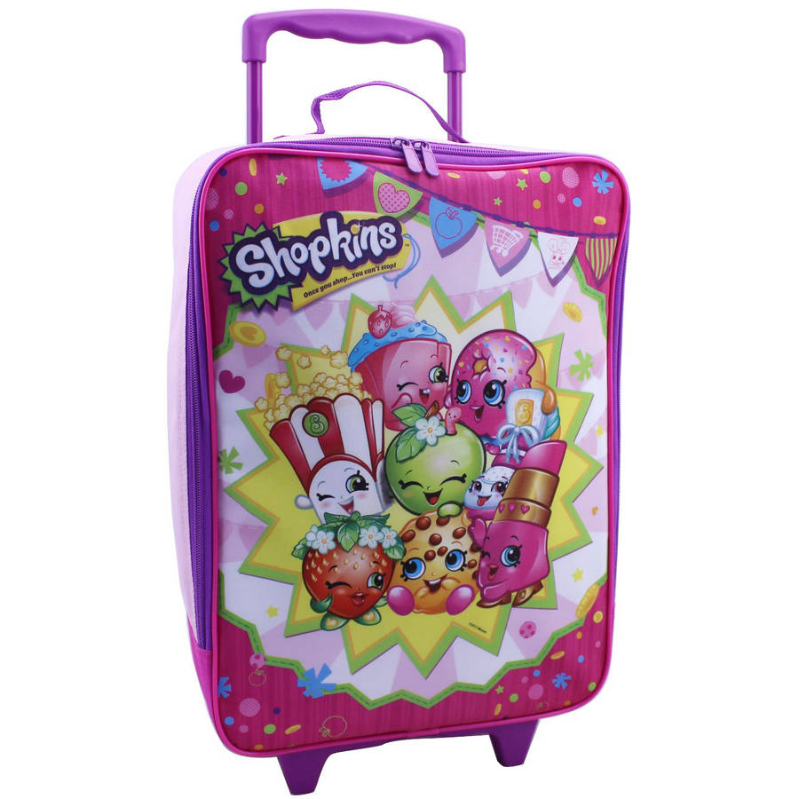 Shopkins Luggage Set, Pink - Walmart.com