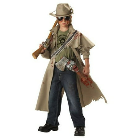 Zombie Hunter Boys' Child Halloween - Zombie Apocalypse Survivor Halloween Costume