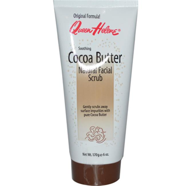 helene scrub facial natural cocoa Queen butter