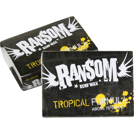 Ransom Surf Wax TROPICAL Single Bar