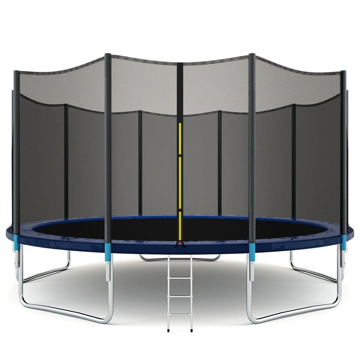 6FT 183cm Trampoline Kids Adults with Enclosure Net Indoor Outdoor Trampoline