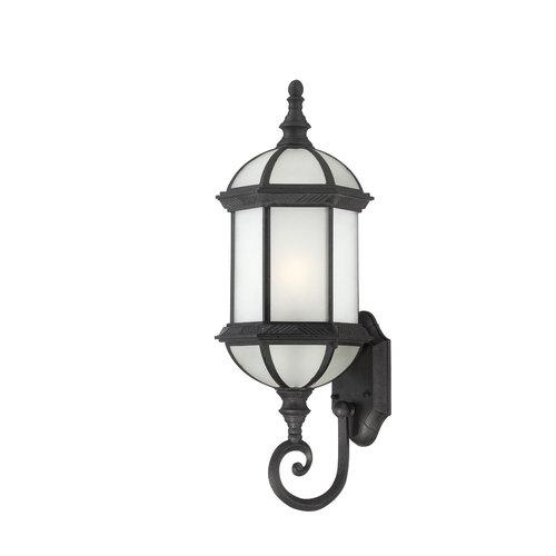 Nuvo Lighting  60/4993  Wall Sconces  Boxwood ES  Outdoor Lighting  Outdoor Wall Sconces  ;Textured Black