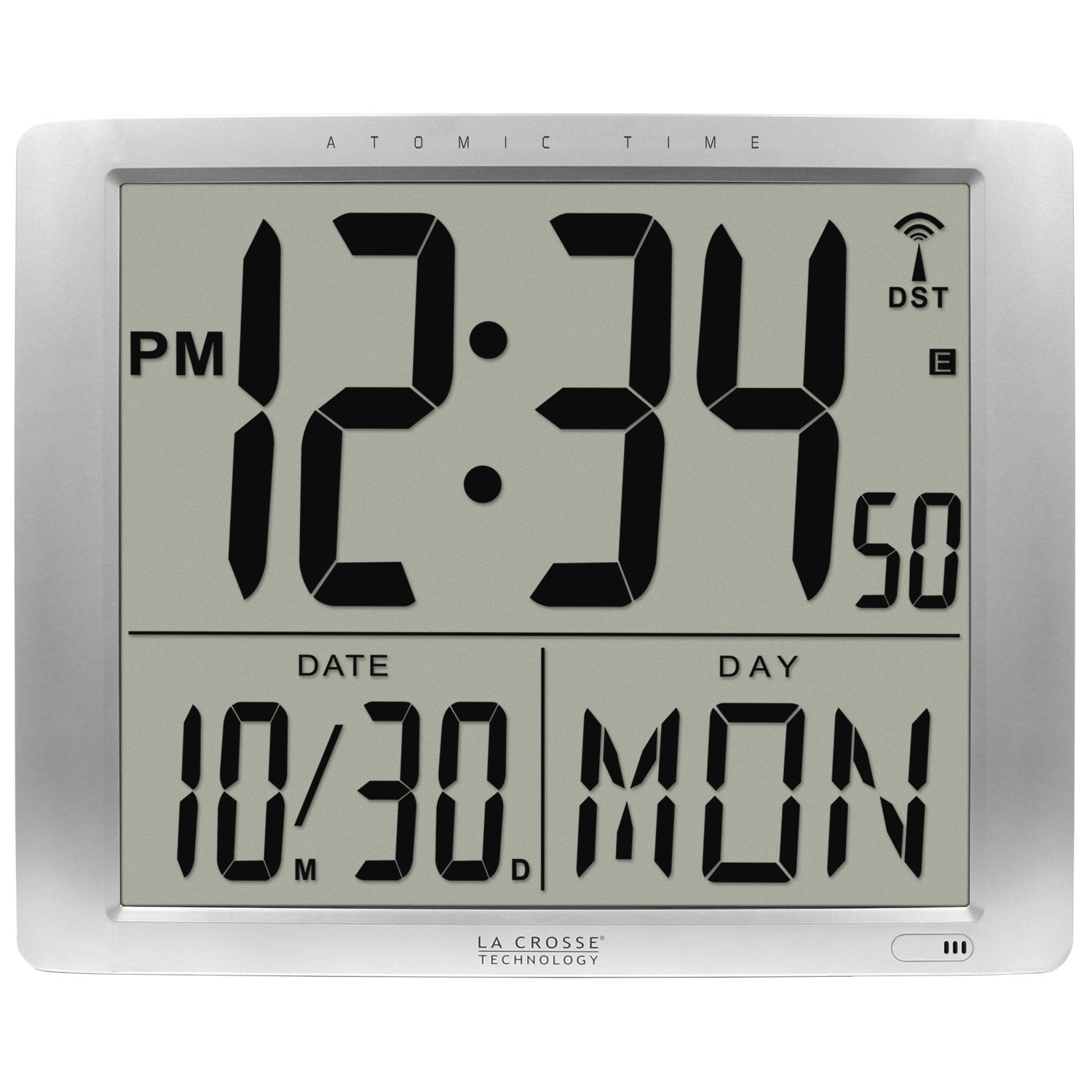 La Crosse Technology 5151316 Atomic ExtraLarge Digital Wall Clock