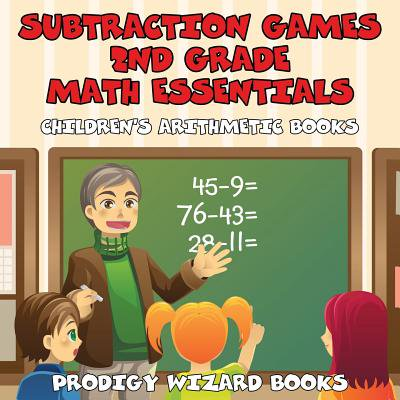 Subtraction Games 2nd Grade Math Essentials Children's Arithmetic Books - Halloween Subtraction Games