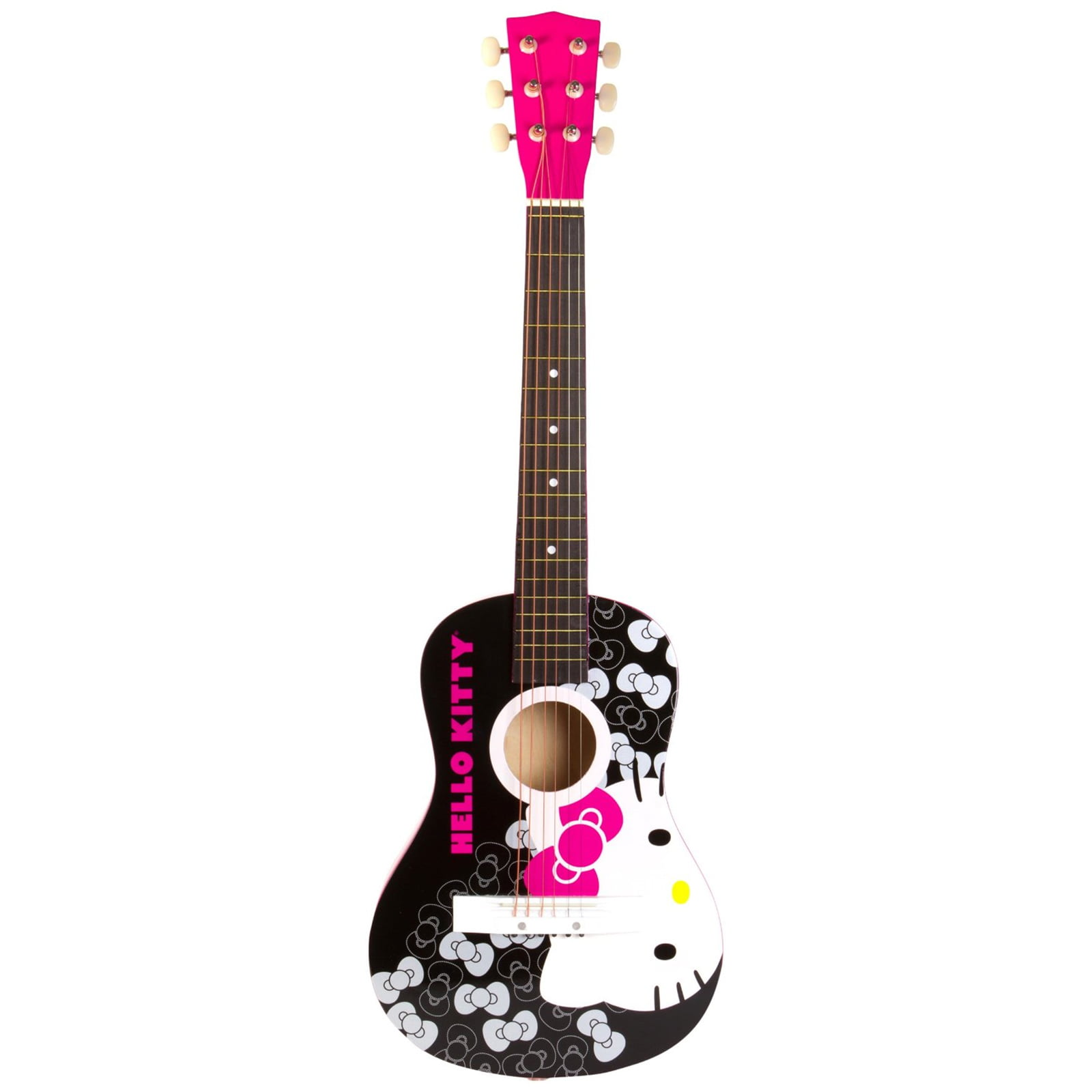 Hello Kitty Acoustic Guitar by Hello Kitty
