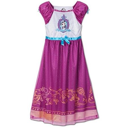 Ever After High Costumes (Ever After High Girl's Costume Nightgown, Purple, Size:)