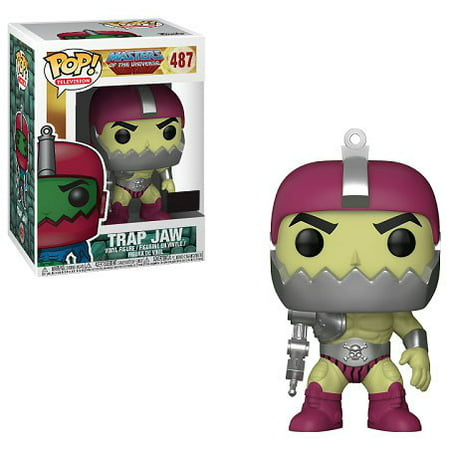 Masters of the Universe Funko POP! TV Trap Jaw Vinyl Figure [Metallic Armor, Light Green] (Trap Maters)