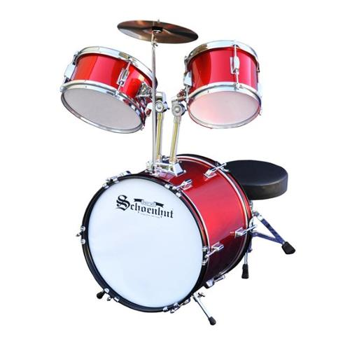 Schoenhut C1020 Red 5 Piece Drum Set by Schoenhut