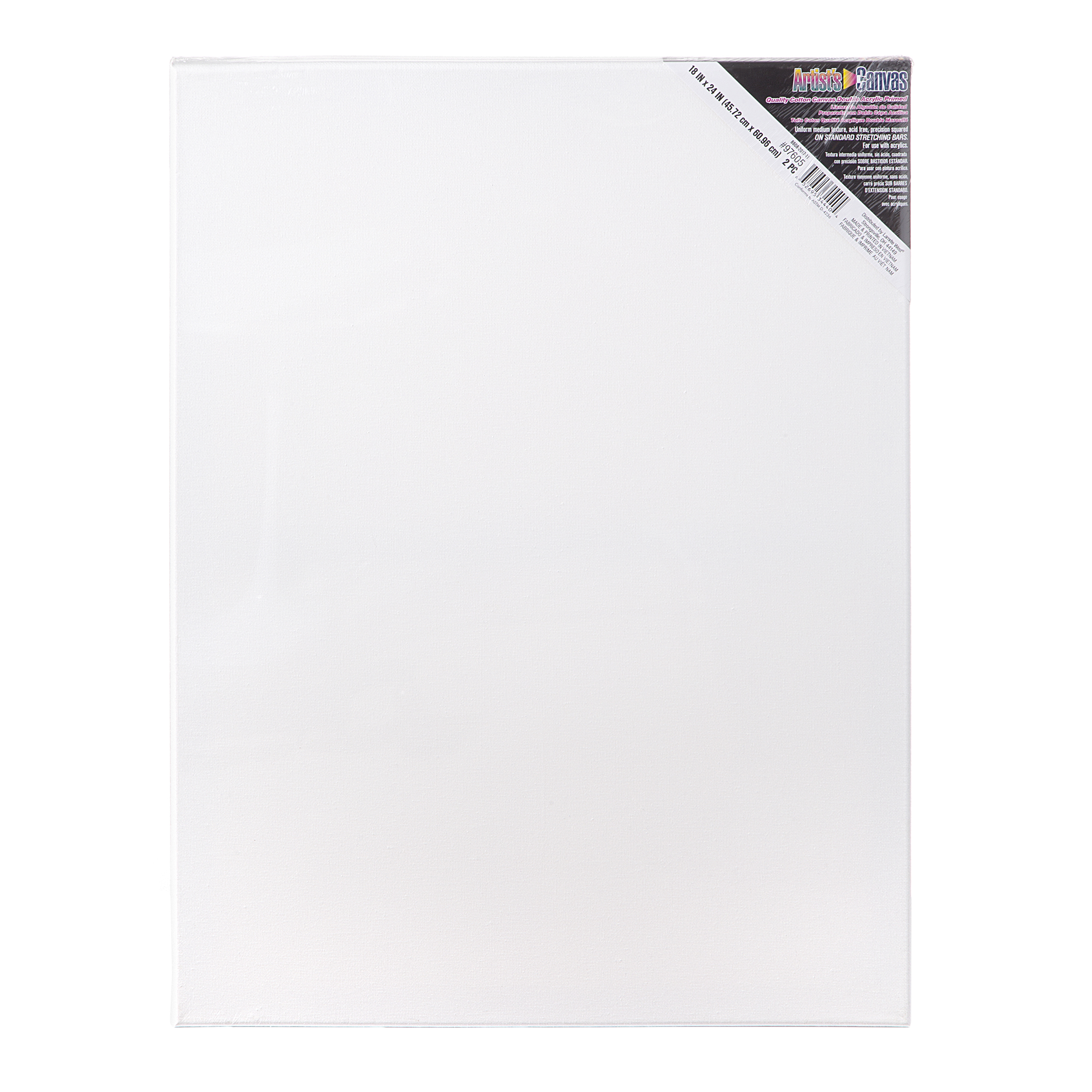 Professional Stretched Artist Canvas 6 Pack x 14 in 11 in