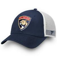 Florida Panthers Fanatics Branded Core Trucker II Snapback Adjustable Hat - Navy - OSFA