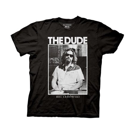 The Big Lebowski T-Shirt - The Dude (Old Dudes Rule T Shirt)