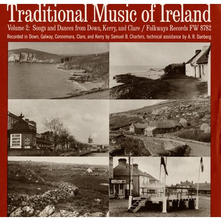 Traditional Music of Ireland - Traditional Music of Ireland: Vol. 2-Songs & Dances From Down Kerry & Clare [CD] World Irish Dance