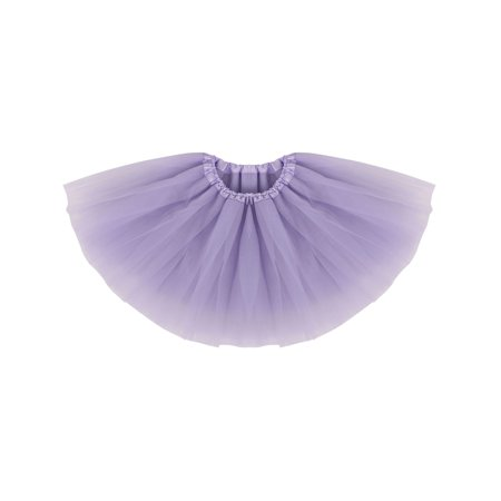 Infant Tulle Dance Tutu Skirt for Dress Up & Fairy Costume,Lavender (Red Costume Shoes)