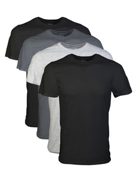 56eaffe1d0f8 Free shipping on orders over $35. Free pickup today. Product Image Big  Men's 2XL Short Sleeve Crew Assorted Color T-Shirt, 4-Pack