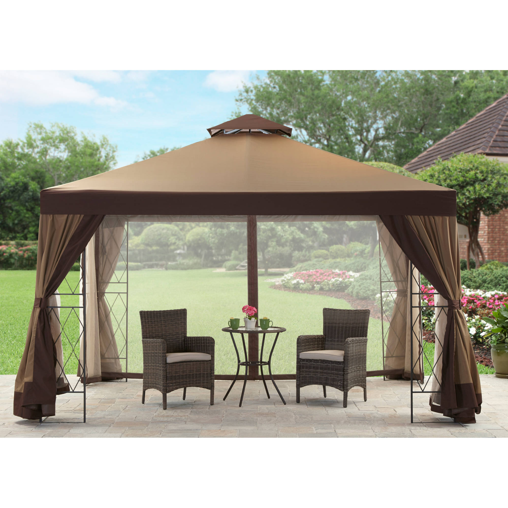 sc 1 st  Walmart & Better Homes and Gardens Kimber Valley Gazebo 12u0027 x 10u0027 - Walmart.com