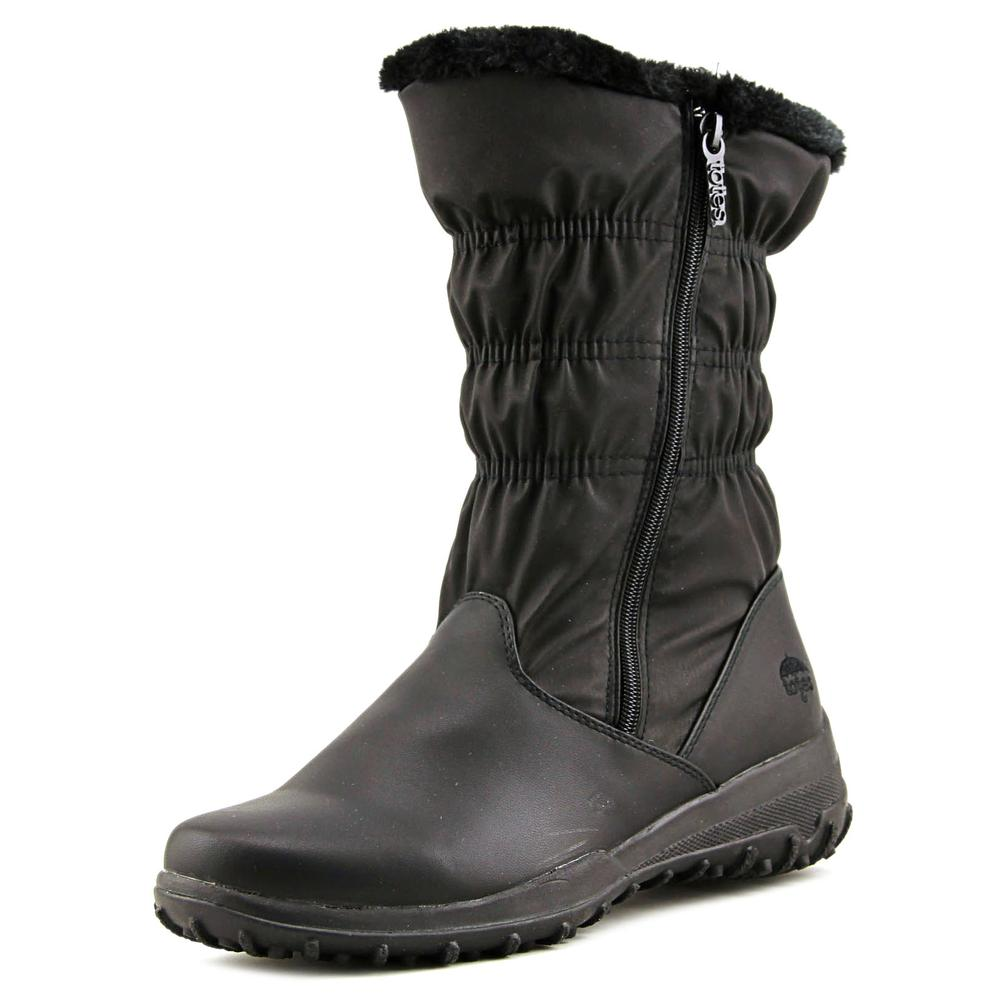Totes Frost Round Toe Synthetic Winter Boot by Totes