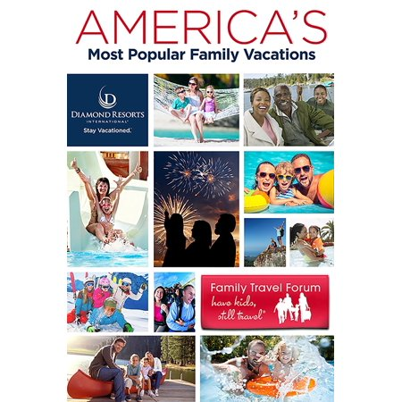 America's Most Popular Family Vacations - eBook
