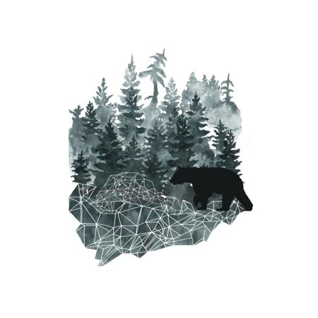 Faceted Animals II Print Wall Art By Naomi - Faceted Art