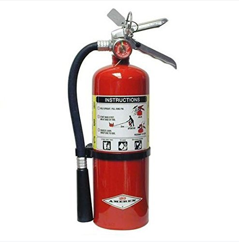 Amerex, B402, 5lb ABC Dry Chemical Class A B C Fire Extinguisher