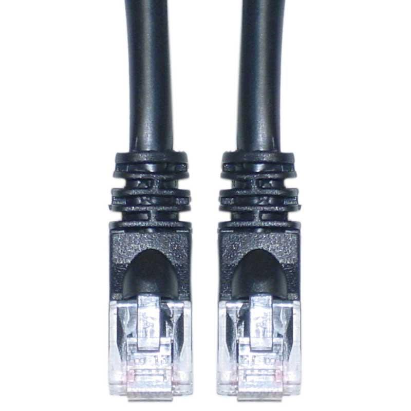 200ft Feet LAN Net Cat6a UTP RJ45 Ethernet Network Cable Cord 10 Gigabit - Black