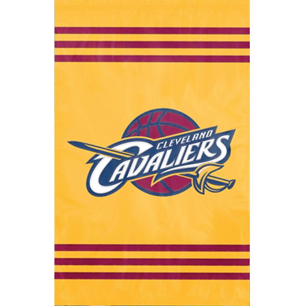 CLEVELAND CAVALIERS OFFICIAL LOGO 2-SIDED BANNER FLAG