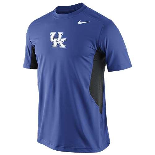 Nike Kentucky Wildcats Pro Combat Hypercool Performance T...