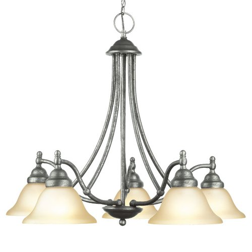 Woodbridge Lighting Anson 5-Light Shaded Chandelier