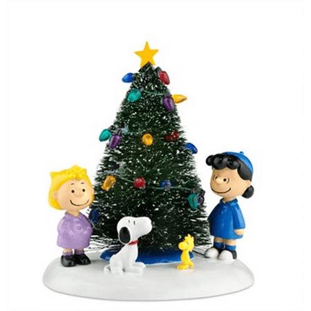 Department 56 Christmas Tree.Department 56 Peanuts Village O Christmas Tree 808997