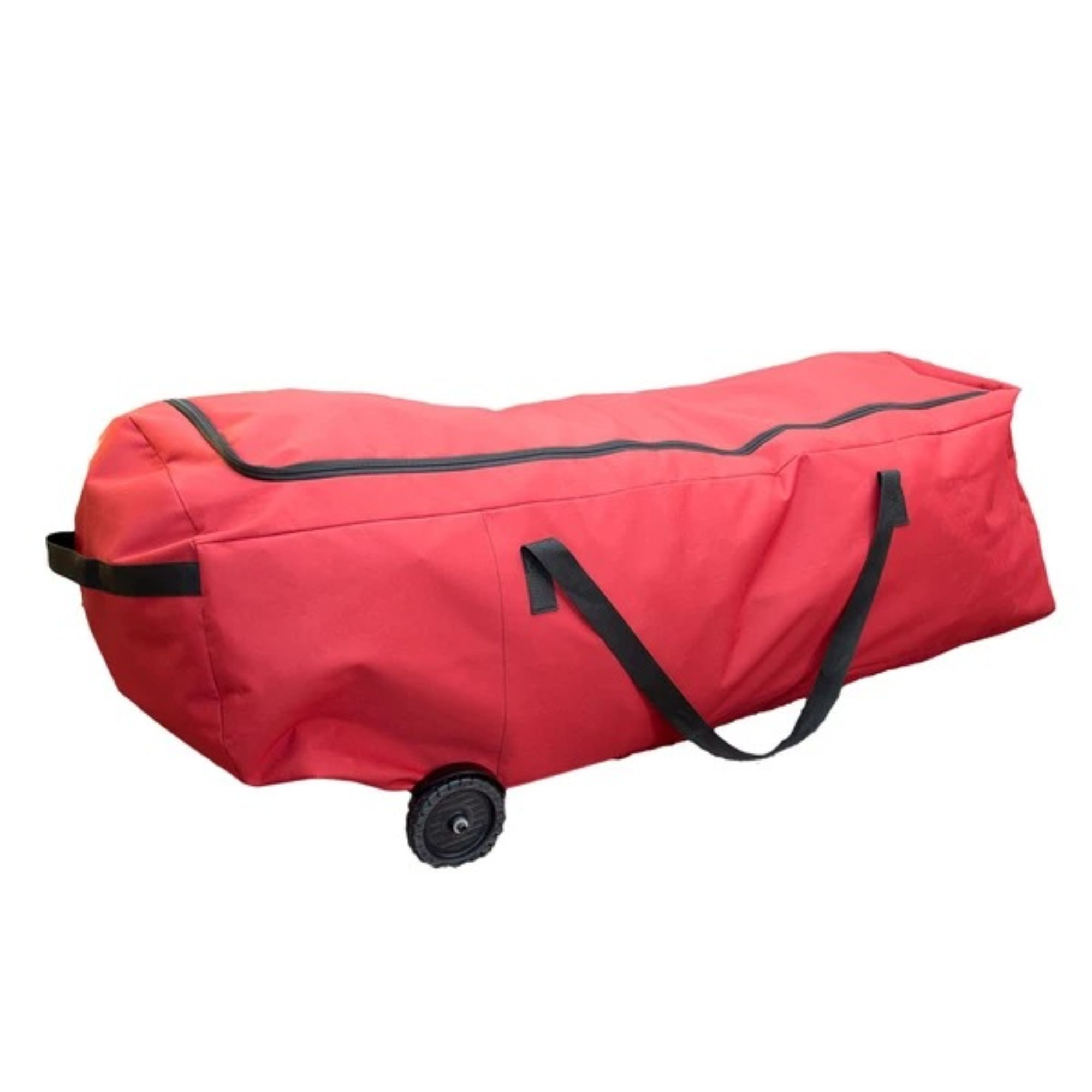 """56"""" Red EZ Roller Christmas Tree Storage Bag with Wheels ..."""