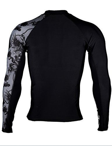 Skins Rash Guard Short Sleeves HUGE SPORTS Mens Splice UV Sun Protection UPF 50